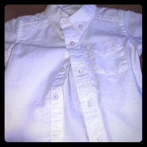 White Collard Dress Shirt